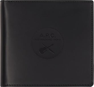 A.P.C. A.p.c. London guitare poignard wallet NOIR U