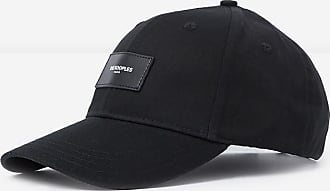 The Kooples Black cap with patch and logo - MEN