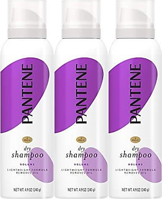 Pantene Pro-V Dry Shampoo, Add Fullness and Refresh Without Washing, Pro-V Sheer Volume for Fine Hair, 4.9 Oz, Pack of 3