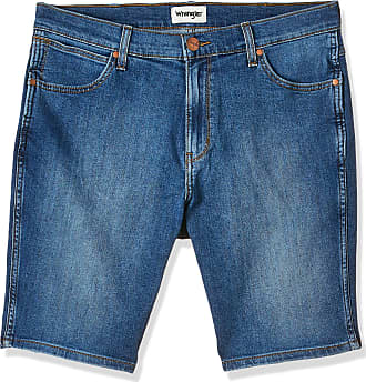 Wrangler Mens 5 Pocket Short, Blue (Blue Dodge 886), 34W