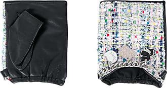 Karl Lagerfeld Par de luvas sem dedos K/Soho - Preto