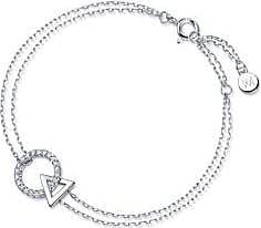Emphasis Form18K White Gold Diamond Bracelet