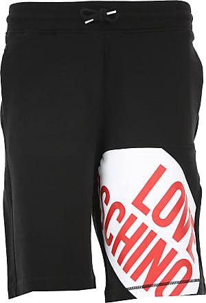dd7cf4cc6f46 Moschino Pantaloncini Shorts Uomo On Sale, Nero, Cotone, 2017, S XL