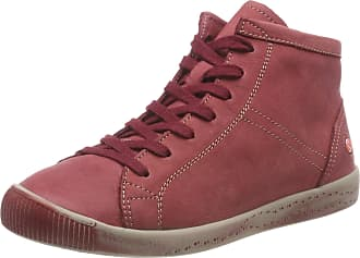 Softinos Womens Isleen Hi-Top Trainers, Red (Scarlet 038), 2.5 UK 2