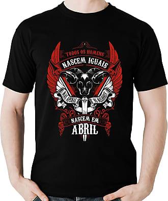 Dragon Store Camiseta Homens de Abril Aries os Melhores Signo