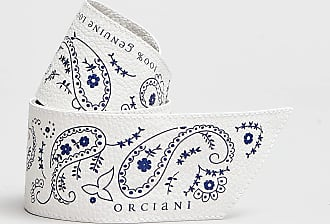 Rabaini Orciani - Bandana in pelle - Bianco