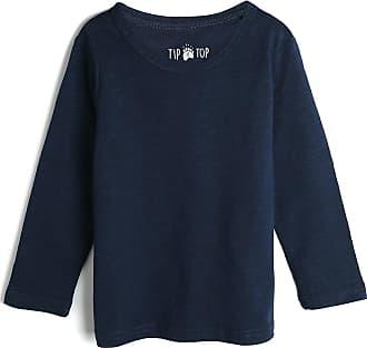 Tip Top Camiseta Tip Top Infantil Lisa Azul-Marinho