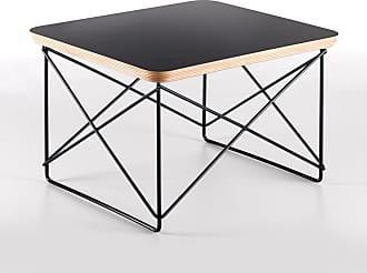 Vitra LTR Table Black With Dark Base