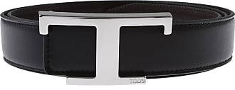 Tod's Belts On Sale, Black, Leather, 2019, 38 40