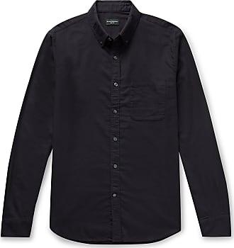 Navy Levon Cotton Flannelhirt 200  NN07  Långärmade skjortor