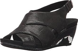 e4c146c3beb Anne Klein AK Sport Womens Carolyn Fabric Wedge Sandal