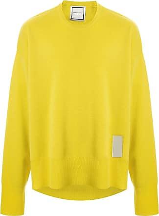 Wooyoungmi Suéter com patch de logo - Amarelo