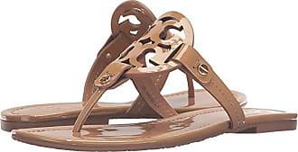 Tory Burch Miller Flip Flop Sandal (Sand) Womens Shoes