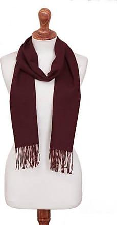 Novica 100% alpaca scarf, Vintners Choice