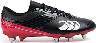 Canterbury of New Zealand Phoenix 2.0 Soft Ground Black//White//FLG Red//Blue A Adult Unisex Noir 47.5 EU Chaussures de Rugby Mixte Adulte