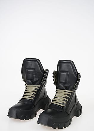 Rick Owens Leather HIKING Ankle Boots Größe 35