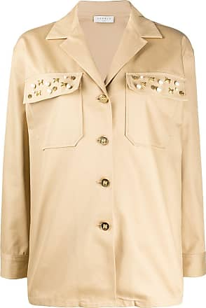 Sandro single breasted utility jacket - NEUTRALS
