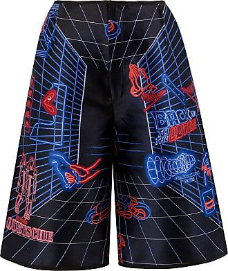 Quetsche Shorts con stampa - Di colore nero