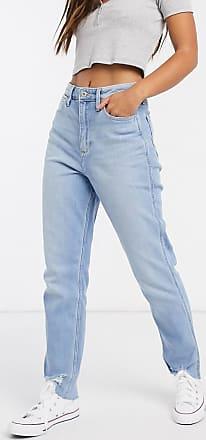 Hollister mom jeans in light wash blue