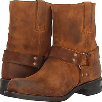 Frye Mens Harness 8R Motorcycle Boot, Wheat, 12 M M US