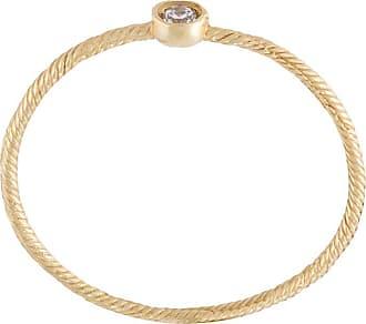 Wouters & Hendrix single diamond ring - Metallic