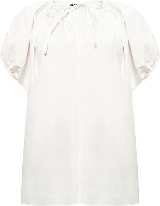 Jil Sander Tie-up Top Womens White