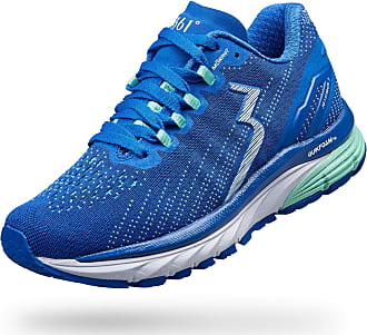 361° Degrees Womens Strata 3 High Performance Stability Everyday Training Lightweight Running Shoe Blue Size: 3.5 UK