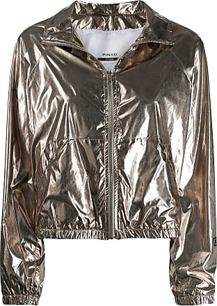 Pinko metallic jacket - Neutrals