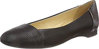 Geox Womens LAMULAY 8 Ballet Flat, Black, 36.5 M EU (6.5 US)