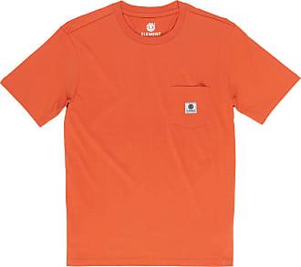 Element Basic Pocket Label T Shirt - Burnt Ochre