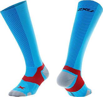 2XU X Lock Compression Socks, Director Blue/Director Blue