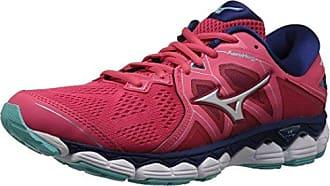 ec354f7373ff Mizuno Womens Wave Sky 2 Running Shoe, Teaberry/Blue Depths, 9.5 B US