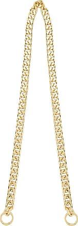 0711 Alça para bolsa banhada em ouro - Metálico