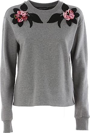 1b056629418b31 Dolce & Gabbana Sweatshirt for Women On Sale in Outlet, Agata Grey, Cotton,