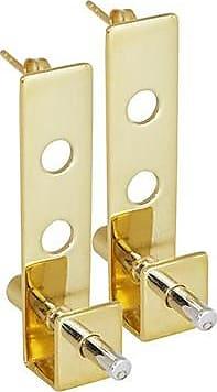 Gabriela Mora Jewelry Pevsner earrings gold