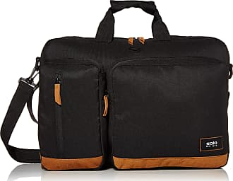 Business Travel Rolling Overnighter Case for Women and Men Black Fits Up to 16 Inch Laptop Solo New York Dakota Rolling Overnight Laptop Bag