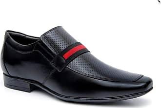 Generico Sapato social masculino super confort, em legitimo couro mestiço(pelica), solado de borracha, forrado com napa de couro, palmilha espumada modelo 3020