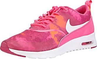 sale retailer cff91 08d5f Nike Air Max Thea Print WMNS 599408-602, Baskets Basses Femme, Rose (