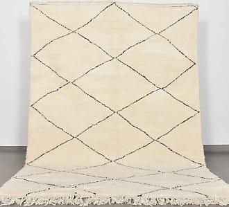 Benisouk Beni Ourain rug 6.8 x 10.3 ft