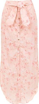 Pop Up Store Saia midi com amarração - Rosa