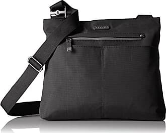 Baggallini All Around Large Crossbody, black with sand lining, One Size