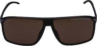 Porsche Design Sonnenbrille Wayfarer 8653 C Acetat schwarz