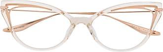 Dita Eyewear Armação de óculos gatinho - Dourado