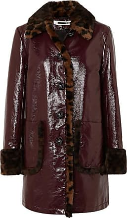 04fcf8bef7b2 McQ by Alexander McQueen Leopard-print Faux Fur-trimmed Coated-cotton Coat -