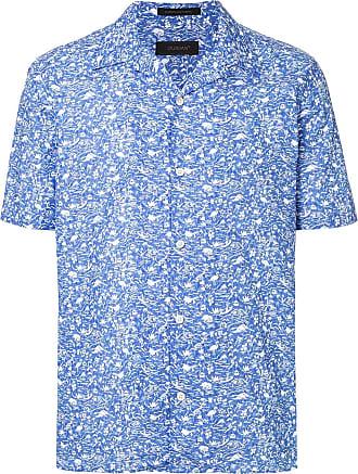 Durban printed casual shirt - Blue
