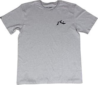 Rusty Camiseta Rusty Tamanho Especial - Cinza - 2G