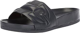 Donald J Pliner Womens Buoy Slide Sandal, Navy, 9 Medium US