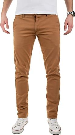 Yazubi Mens Chinos Trousers Merlin II - Slim Coffee, Brown (Camel 1004), W29/L34
