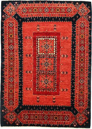 Nain Trading 218x158 Tappeto Orientale Persia Gabbeh Loribaft Marrone Scuro/Arancione (Lana, Persia/Iran, Annodato a mano)
