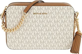 Michael Kors Cross Body Bags - Medium Camera Bag Vanilla - beige - Cross Body Bags for ladies
